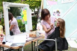 Kinderschminken mit Gabriele Kent-Horspool