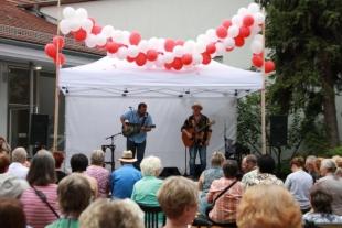 Martin Rader & Roland Heinrich mit Bayern-Rock