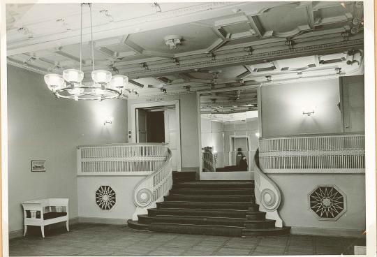 """Schloßpark-Theater, jetzige """"Champagnerhalle"""" (evtl. Mitte 20. Jahrhundert?)"""