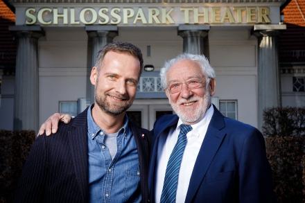 Intendant Dieter Hallervorden & Theaterleiter Markus Lorenz — © DERDEHMEL/Urbschat